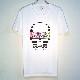 Skull Tattoo Girl NO.23 T-shirt White