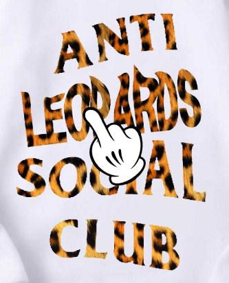 ANTI leopard CLUB Parker White