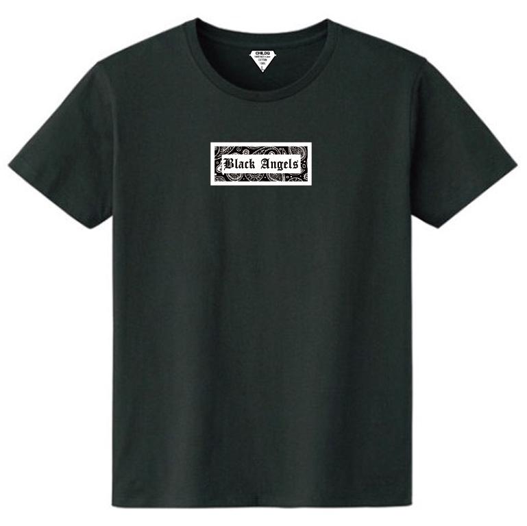 Black angels Reprint Artwork T-shirt