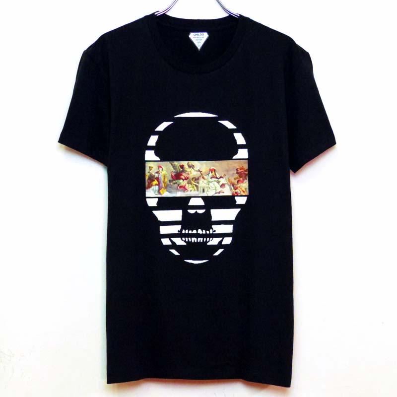 Mural Skull T-shirt black