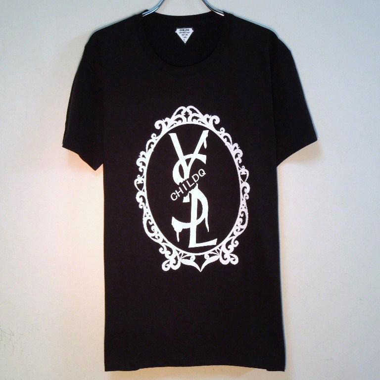 Emblem crash melt  T-shirt Black