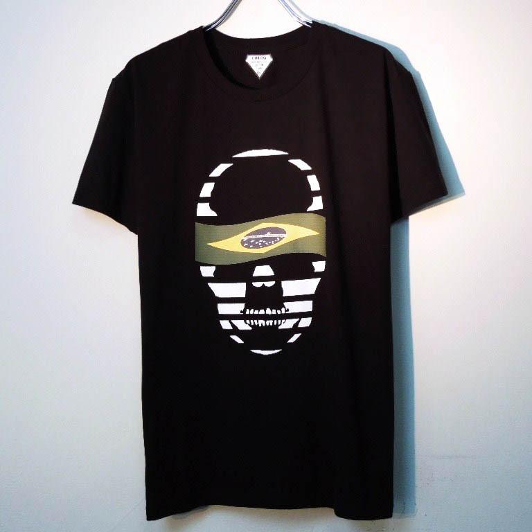 スカル アウリヴェルジ Tシャツ / Black