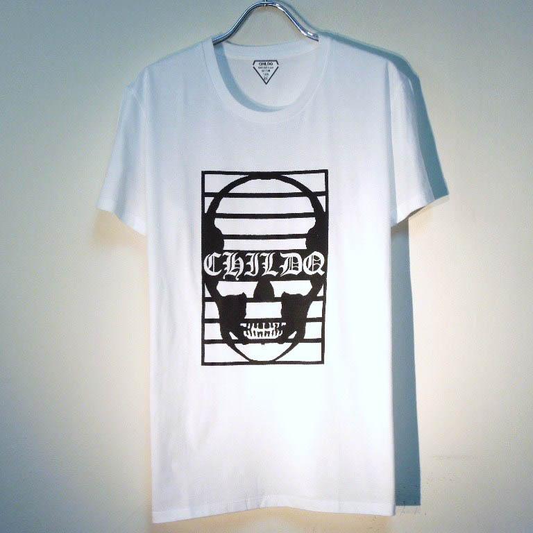 スカル プリズン Tシャツ / White