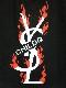 Parody Fire T-shirt Black
