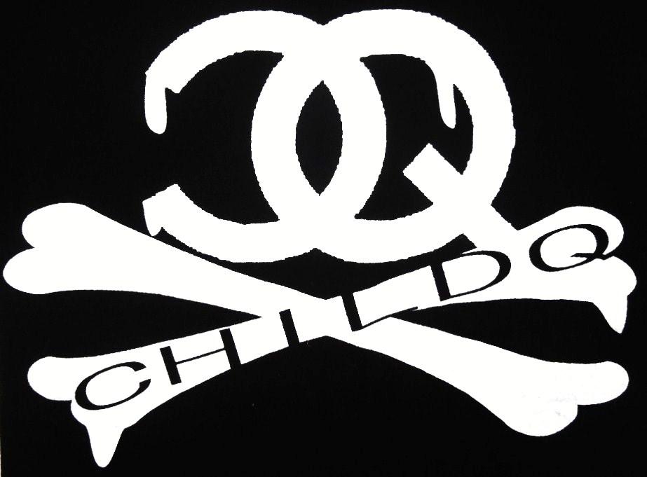 CQ bone black  T-shirt