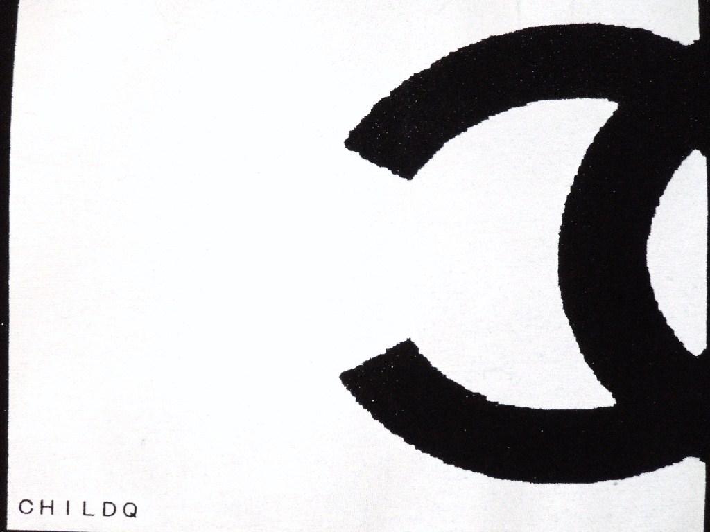 half CQ Long T-shirt Balck
