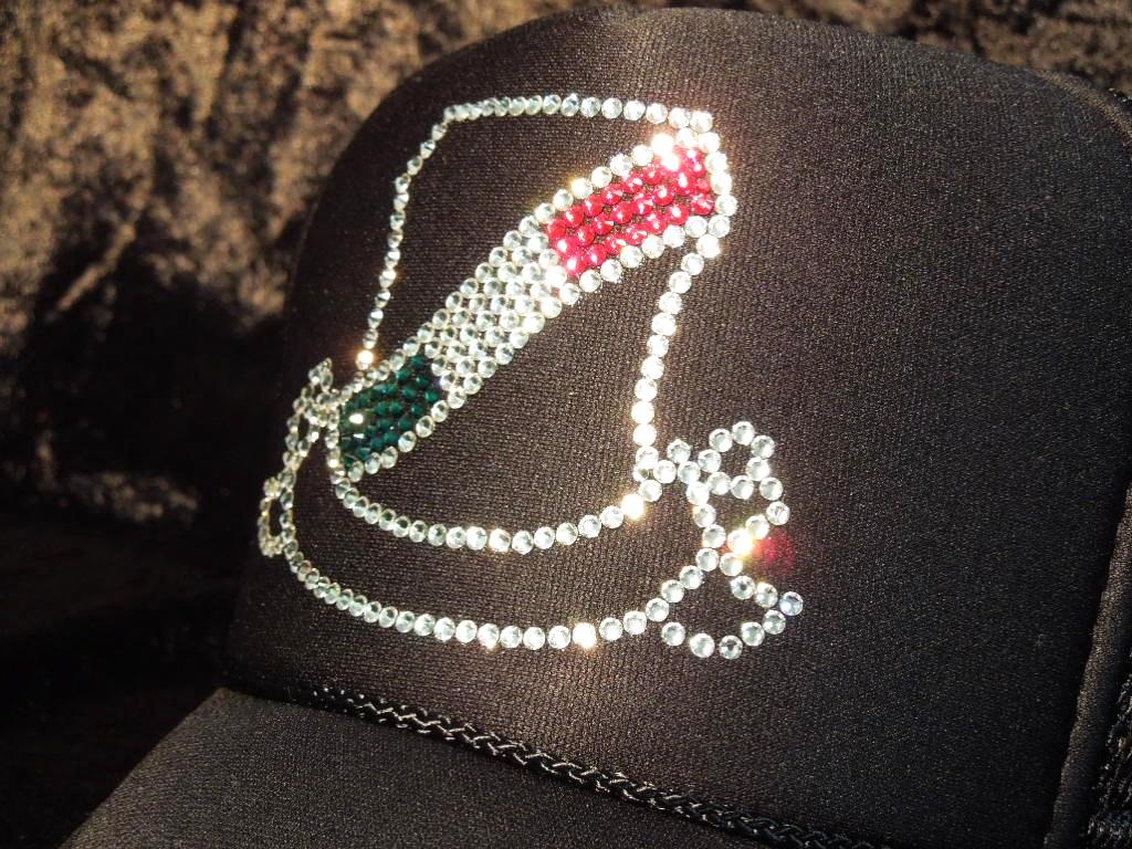 Line emblem Italy color CAP black
