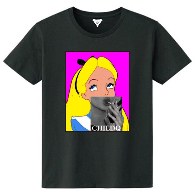 Lollipop art Black T-shirt