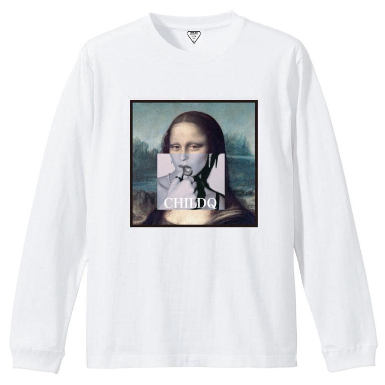 Mona Lisa Lips White T-shirt