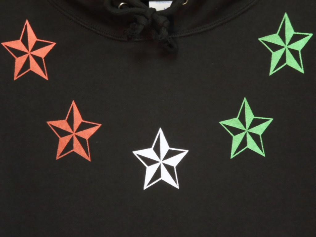 Five rock star Parker black × Italy color