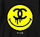 One Eye Smiley Hoodie Black
