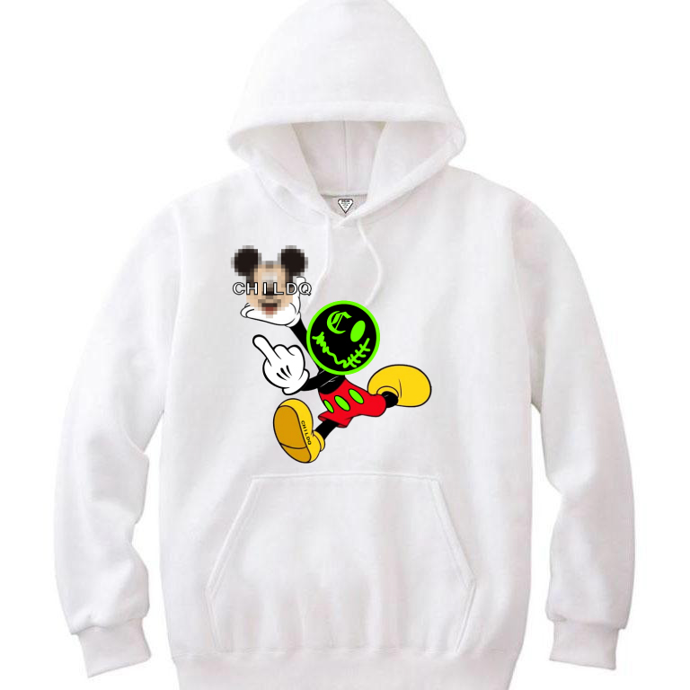 Secret Smiley design hoodie