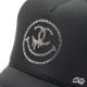 One Eye Smiley Swarovski CAP Black
