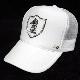 Emblem Night Swarovski Cap White
