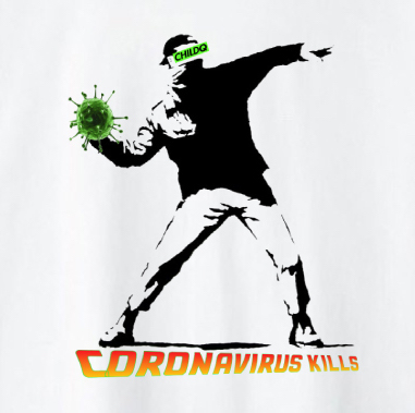 Corona virus kills T-shirt