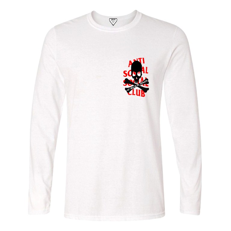 Anti Skull Club Long T-Shirt White