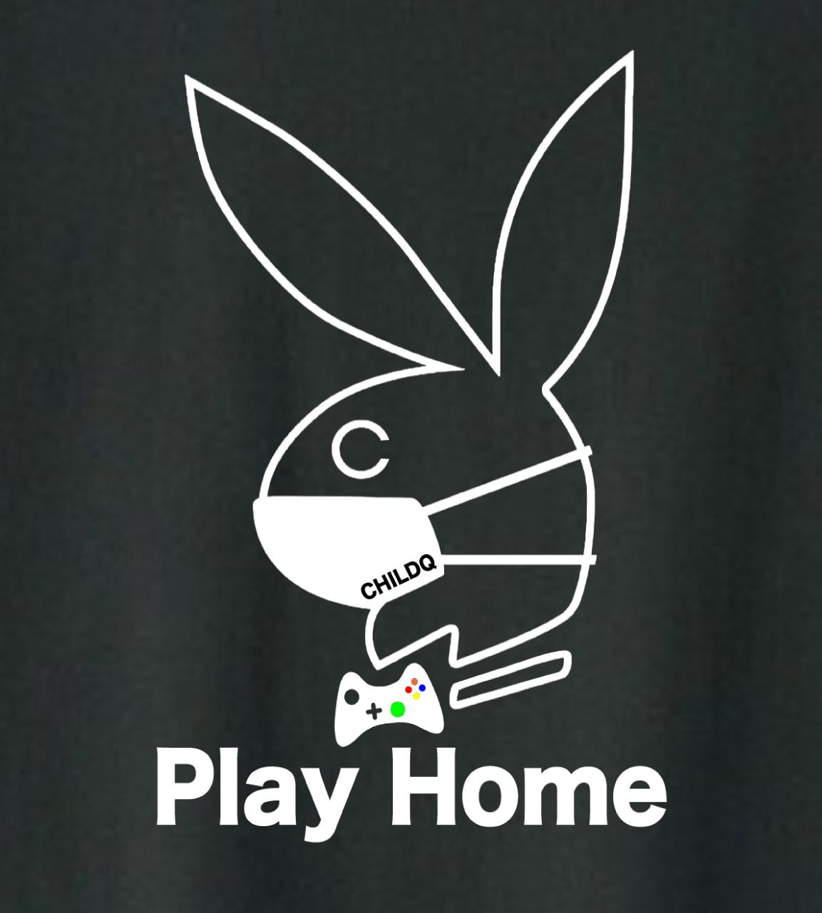 【期間限定商品】Play Home T-shirt Black