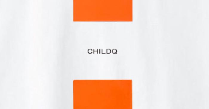 Vivid orange Line T-shirt White