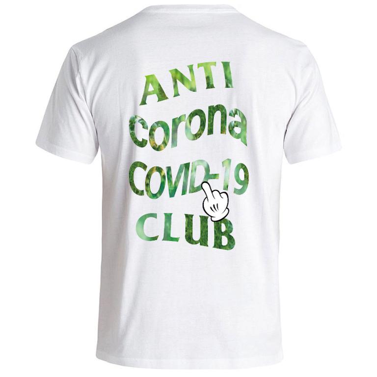ANTI COVID-19 T-shirt White