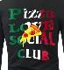 Pizza Love School Club Black