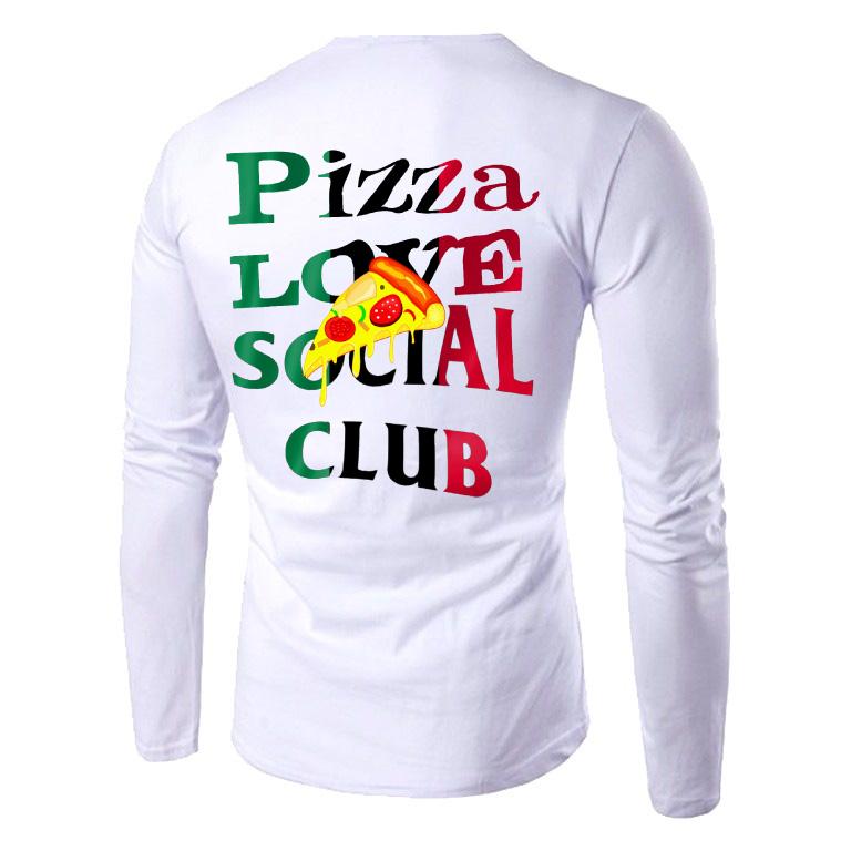 Pizza Love School Club White