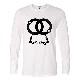 Jail Art Long T-shirt White