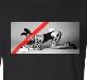 Art Hot N.O5 Long T Shirt Black