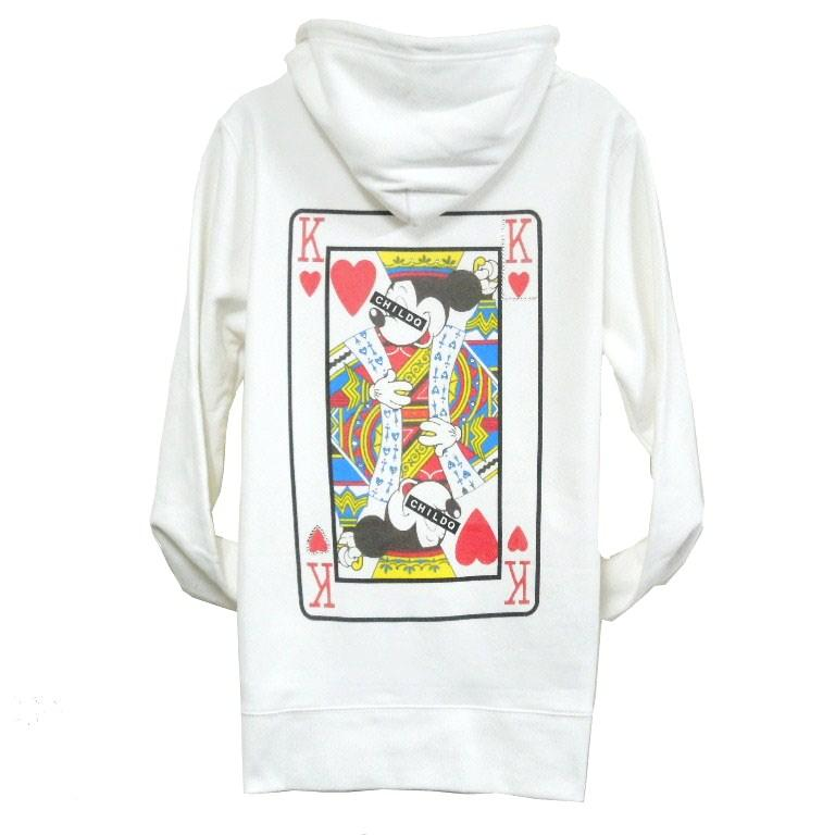 Swarovski Playing card Parker White