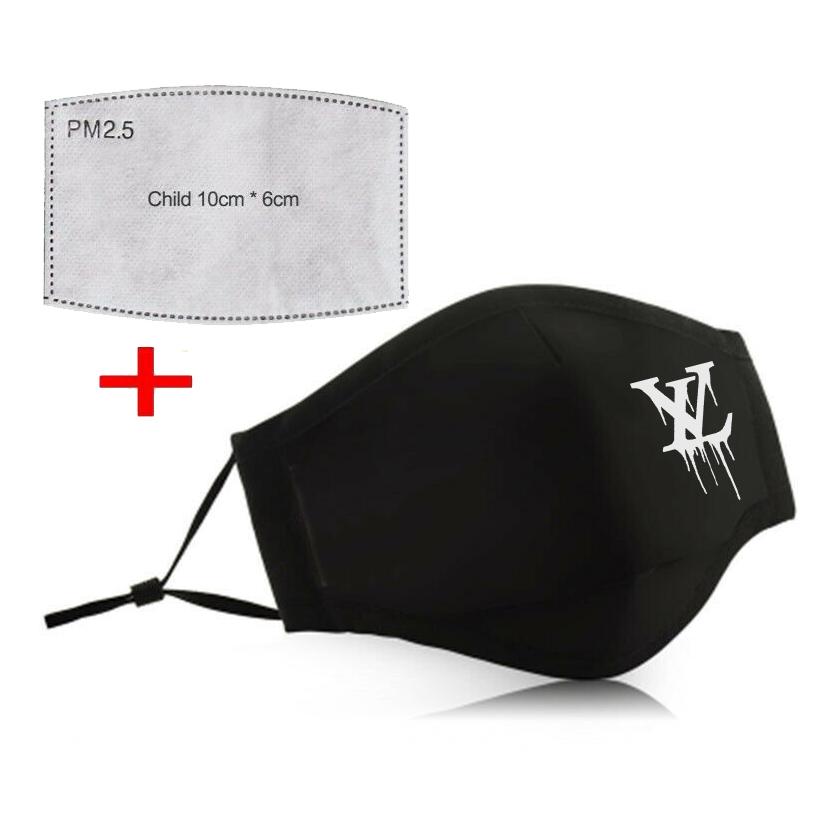 【薄手タイプ】Design mask N.O1【PM2.5フィルター二枚付き】
