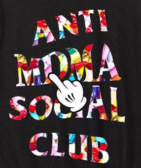 ANTI MDMA CLUB Parker Black