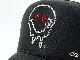 Melt Smarry gang Swarovski cap Black