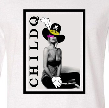 Art Hot N.O6 Long T-Shirt White