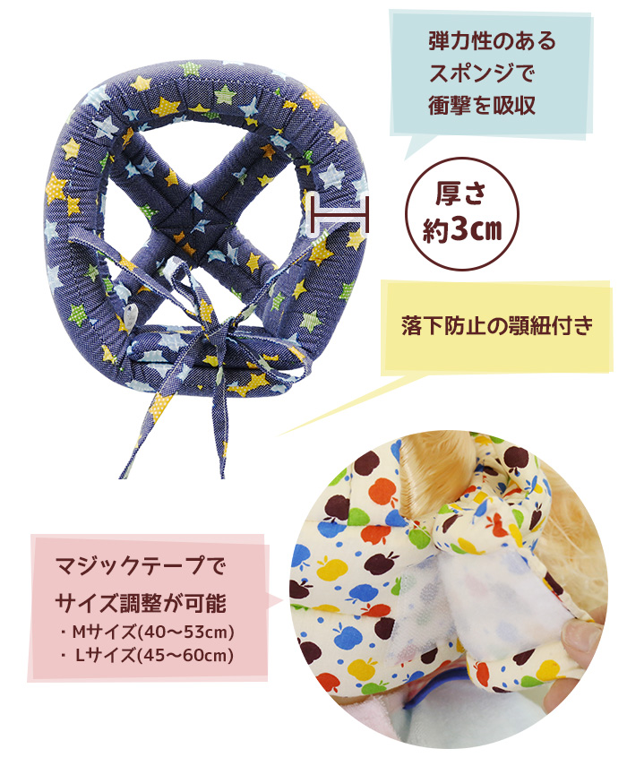 【クリックポスト送料無料】セーフティーベビーヘルメット