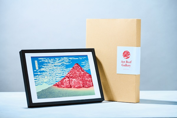 Art Beef Gallery『凱風快晴』 <br>日本三大和牛「近江牛A5ランク赤身肉 」