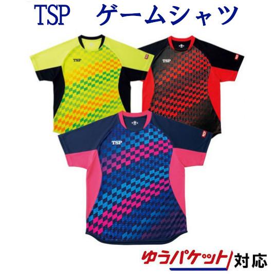 TSP チェッカーグラデシャツ 031431 メンズ ユニセックス 2019SS 卓球 ゆうパケット(メール便)対応