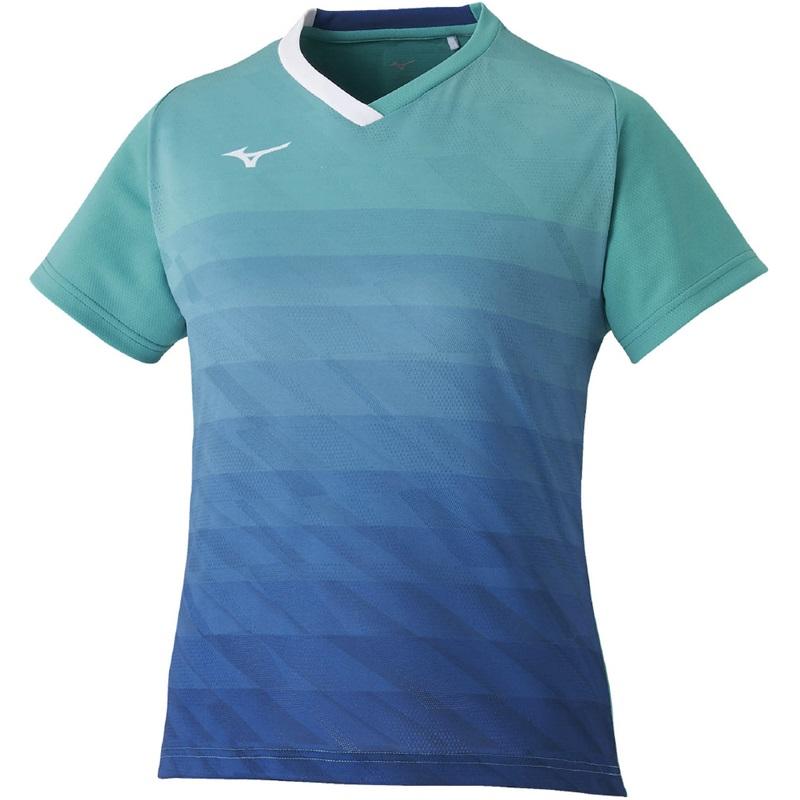 ミズノ ゲームシャツ(ウィメンズ) 72MA0205 レディース 2020SS バドミントン テニス ソフトテニス ゆうパケット(メール便)対応 2020最新 2020春夏