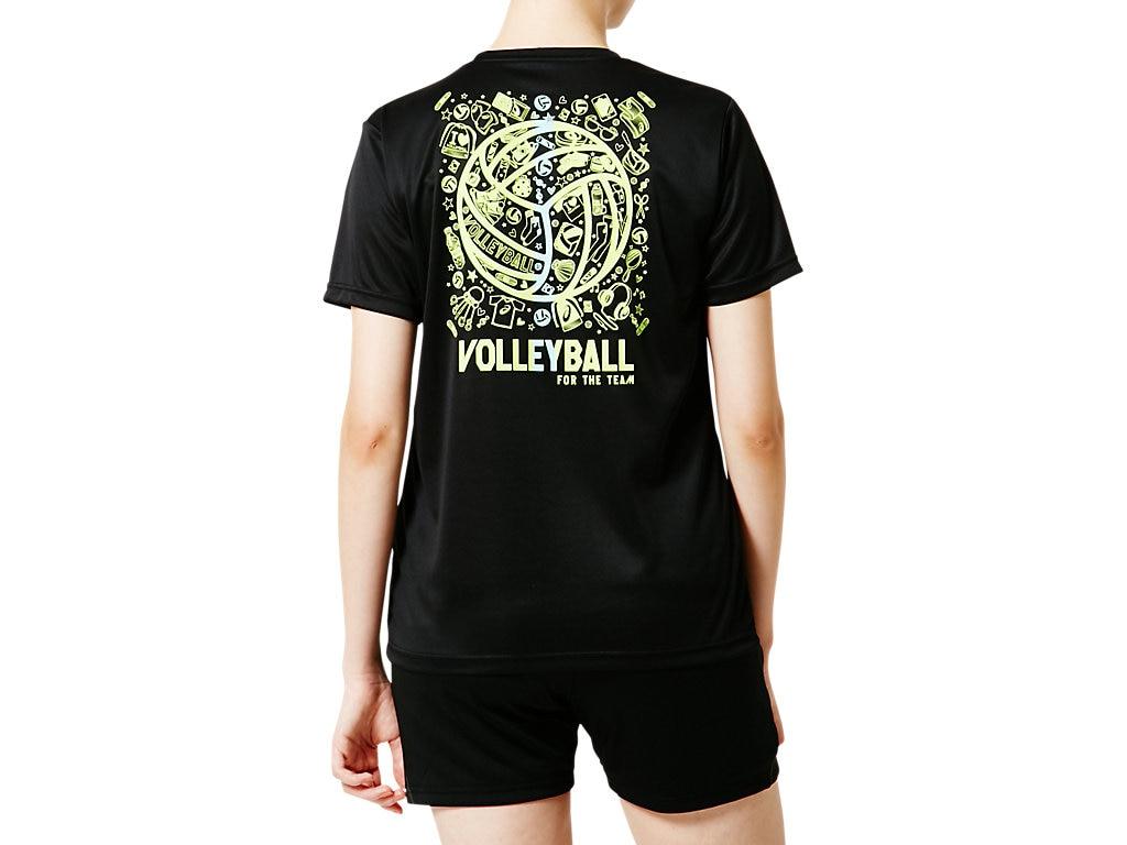 アシックス Tシャツ W'Sショートスリーブトップ 2052A040 レディース 2019SS バレーボール ゆうパケット(メール便)対応 2019最新 2019春夏