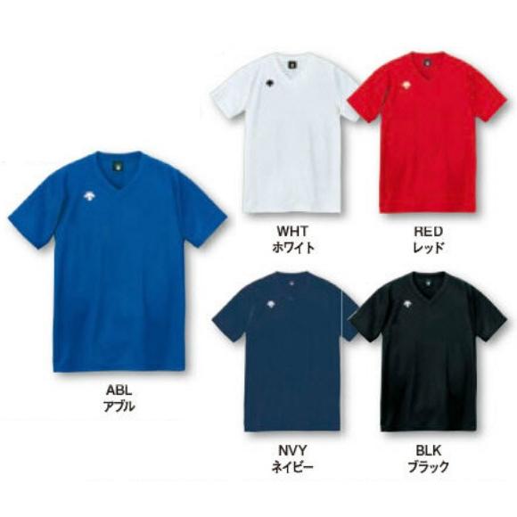 【取寄品】 デサントV首半袖ゲームシャツ DSS-4321バレーボール ウエア シャツ 半袖メンズ ユニセックス 男女兼用 ジュニア 子供用ゆうパケット対応 DESCENTE