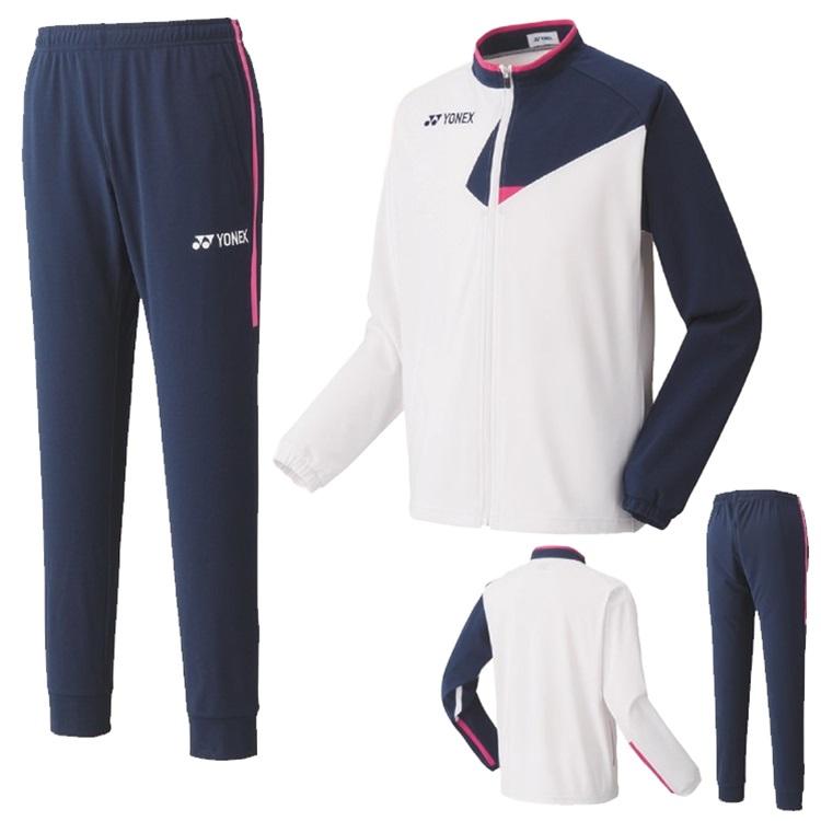 ヨネックス ニットウォームアップシャツ(フィットスタイル)・パンツ上下セット 50101-60101 ユニセックス 2020SS バドミントン テニス ソフトテニス