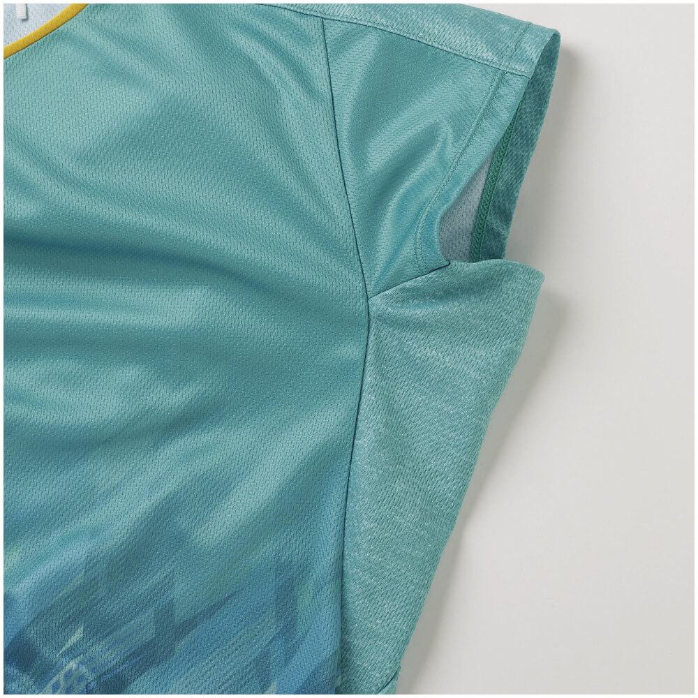 ミズノ クイックドライゲームシャツ 72MA1202 レディース 2021SS ゆうパケット(メール便)対応 バドミントン テニス ソフトテニス
