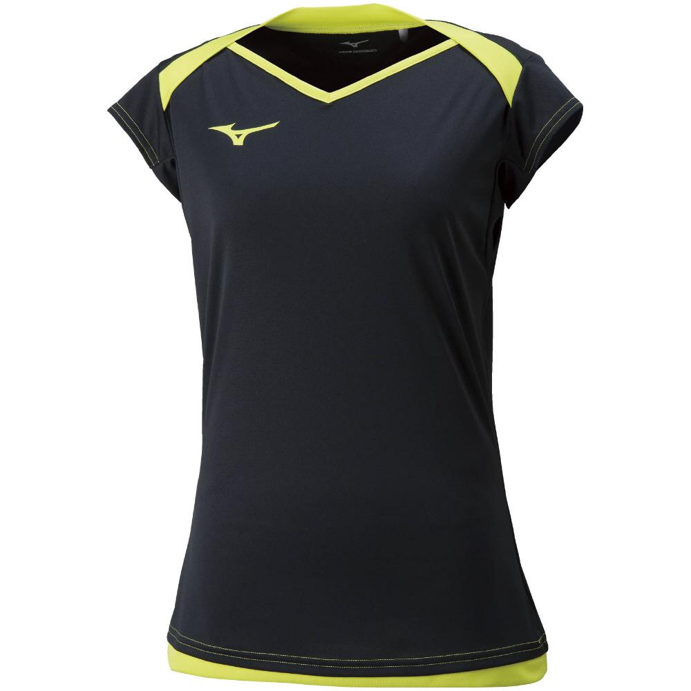 ミズノ プラクティスキャップスリーブシャツ V2MA8282 レディース 2018SS バレーボール ゆうパケット(メール便)対応 m2off