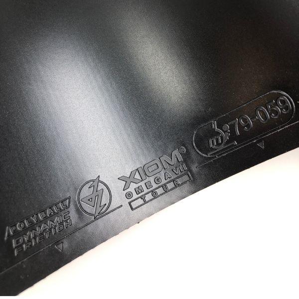 XIOM オメガVII オメガ7ツアーI 48 2021SS 卓球ラバー  ゆうパケット(メール便)対応