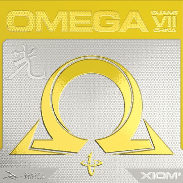 取り寄せ品 XIOM オメガVII オメガ7チャイナ 光 2021SS 卓球ラバー  ゆうパケット(メール便)対応
