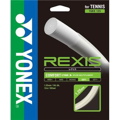ヨネックス REXIS レクシス 125/130 TGRX  硬式テニス ガット ストリング 大坂なおみ選手使用モデル ゆうパケット(メール便)対応 2017SS