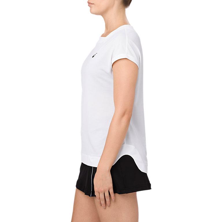 アシックス Tシャツ W'Sショートスリーブトップ 154419 レディース 2018SS テニス ゆうパケット(メール便)対応