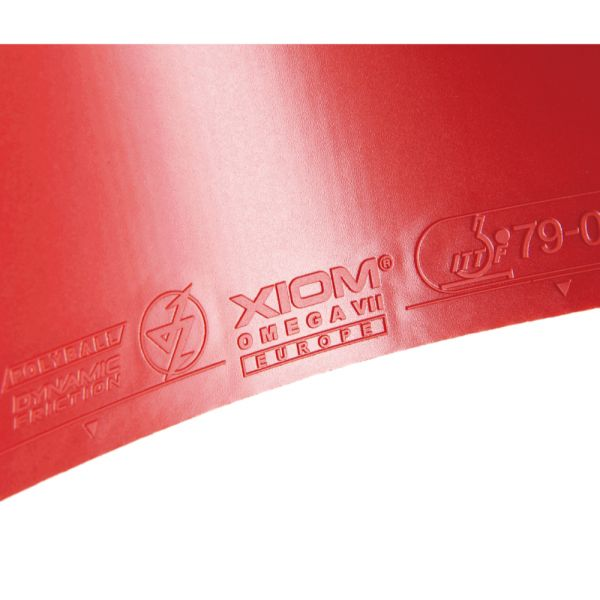 取り寄せ品 XIOM オメガVII オメガ7ヨーロ 2021SS 卓球ラバー  ゆうパケット(メール便)対応