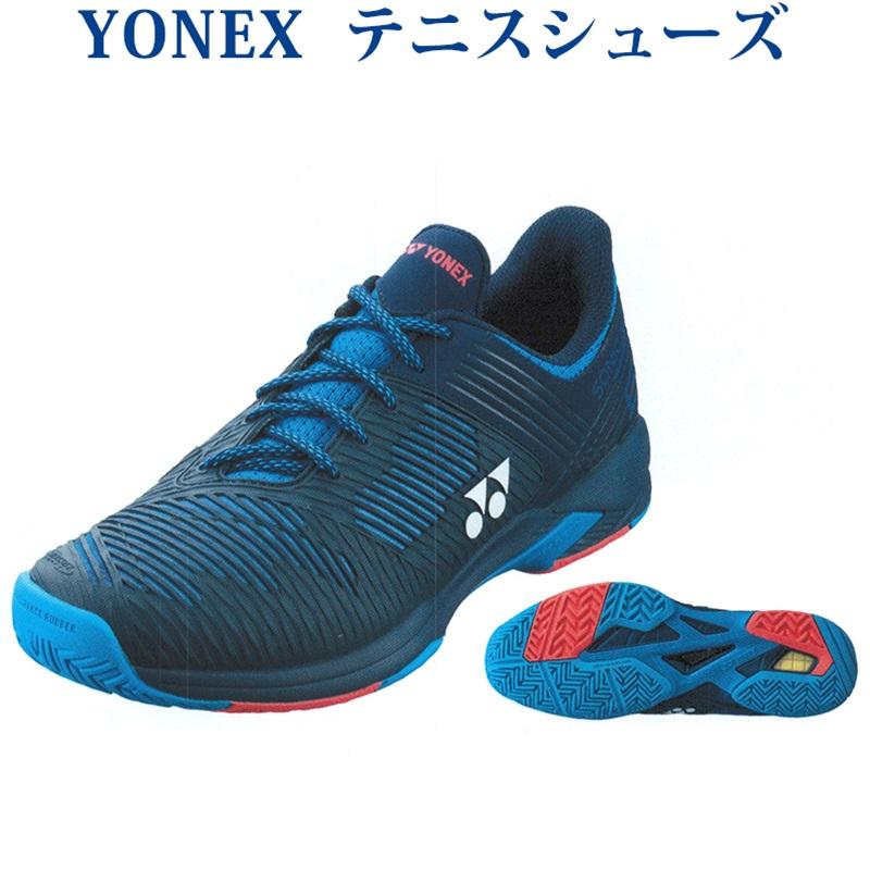 ヨネックス パワークッションソニケージ2ワイドAC SHTS2WAC-390 メンズ ユニセックス 2019AW テニス ソフトテニス シューズ 靴
