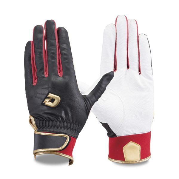 ウィルソン バッティング手袋 ディマリニ ブラック/レッド WTABG0603 両手組 ゆうパケット対応