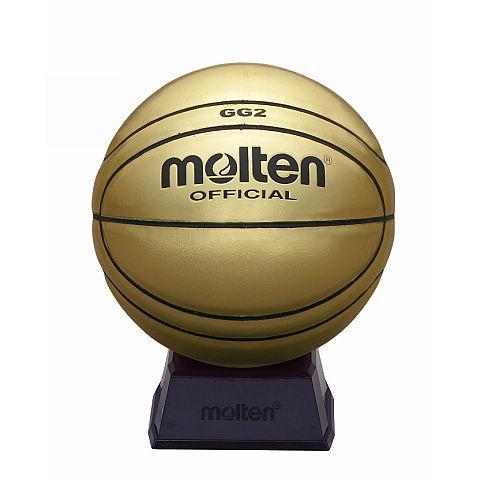 【取寄品】 モルテンサインボールBGG2GLバスケットボール 記念品 molten