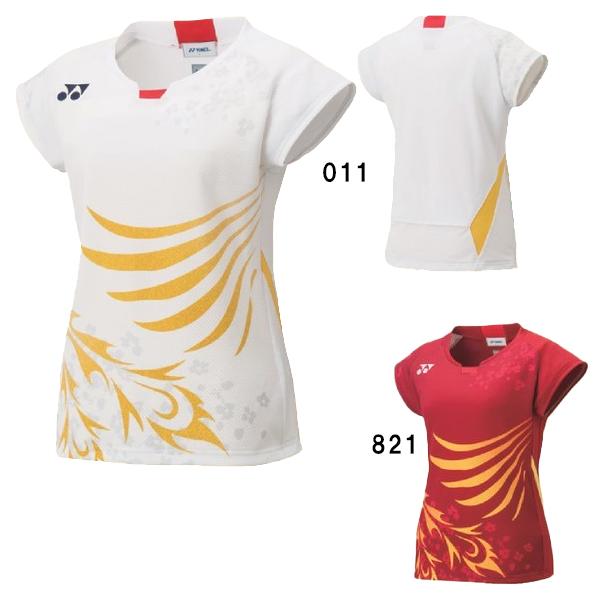 ヨネックス ゲームシャツ 20567 レディース 2020AW バドミントン テニス ソフトテニス ゆうパケット(メール便)対応